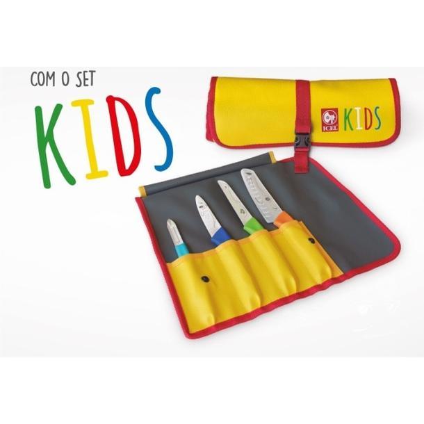 SET KIDS COM 4 PEÇAS 44C.KIDS.04 ICEL