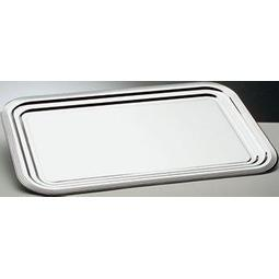 BANDEJA RECTANGULAR 41*31 LISA INOX