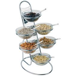 EXPOSITOR FRUTOS SECOS 11PCS PARA BUFFET