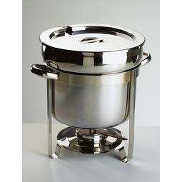 CHAFING DISH HOT POT RED. 30CM DIAMETRO INOX DE 11LITROS