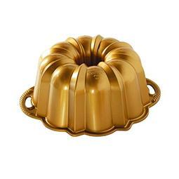 FORMA ANIVERSARY GOLD BUNDT 12 CHAV 50077 NORDIC WARE