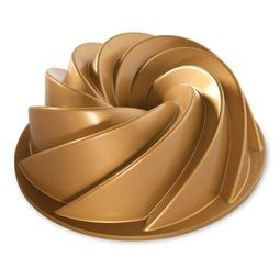FORMA HERITAGE GOLD BUNDT 80677 NORDIC WARE