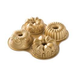 FORMA BUNDT QUARTET GOLD 91377 NORDIC WARE