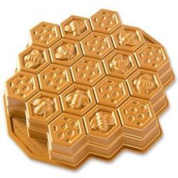 FORMA HONEYCOMB GOLD BUNDT 85477 NORDIC WARE