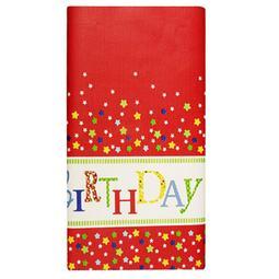 TOALHA PAPEL 120*180CM HAPPY BIRTHDAY