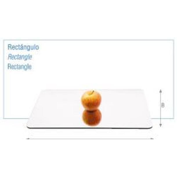 ESPELHO ACRILICO RECTANGULAR COM 60CM