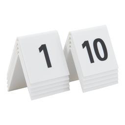NUMEROS DE MESA EM ACRILICO 1 A 10