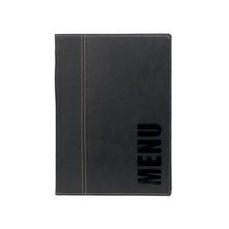 PORTA MENU A5 TRENDY PRETO MC-TRA5-BL SEC