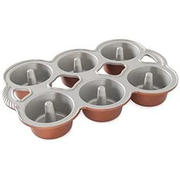 FORMA MINI ANGELFOOD CAKELETS COPPER 80348 NORDIC WARE